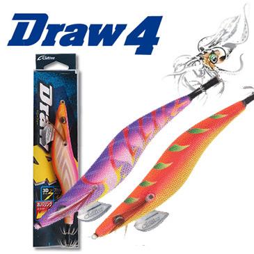 컬티바 에기 드로우4/ Draw4 3.5호 /무늬오징어/에깅낚시/